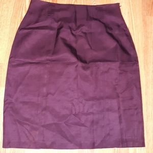 Vintage Ellen Tracy Silk Skirt